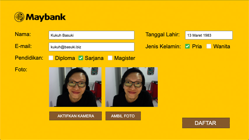Maybank Pre-Recruitment Online Test Group 1